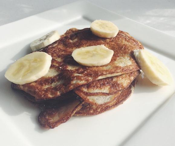 Banaan-ei pancakes