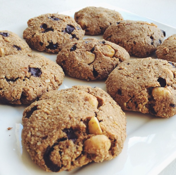 Recept: Macademia chocolade koekjes