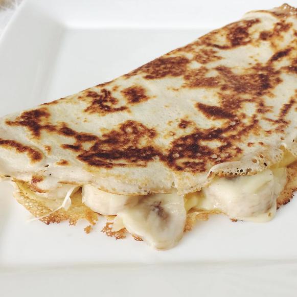 Recept: Speltpannenkoek Banaan Kaas