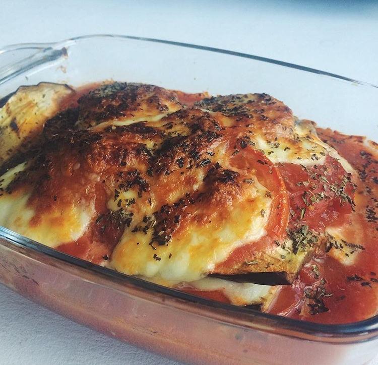 Recept: Aubergine schotel met mozzarella