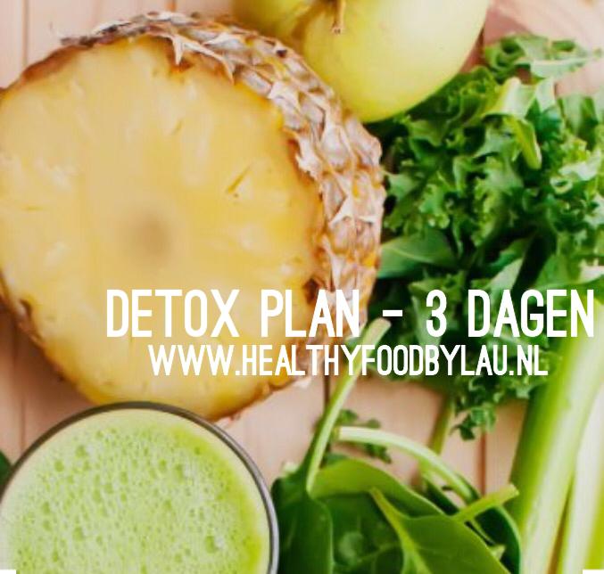 Detox plan – 3 dagen
