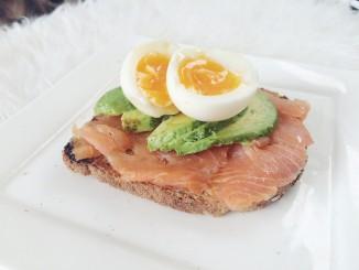 Lunch tip: Zalm avocado & ei