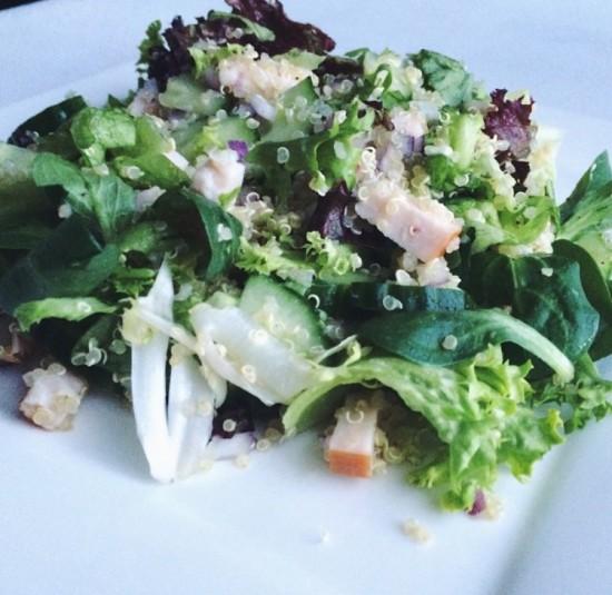 Recept: Quinoa kip salade