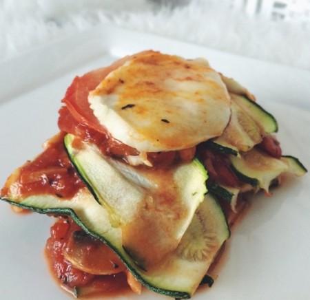 Recept: Courgette Lasagne