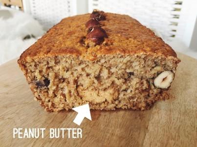 Recept: Peanut Butter Bananenbrood