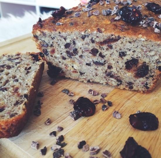 Recept: Cranberry Cacao Bananenbrood