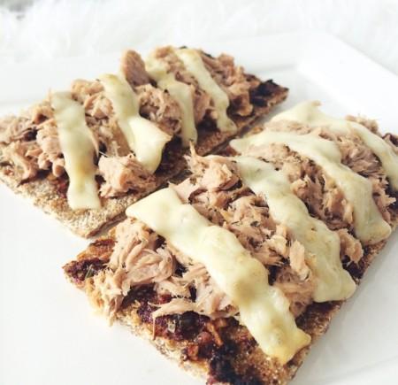 Recept: Pizza cracker tonijn