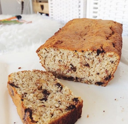 Recept: Amandel-Bananenbrood met chocolade