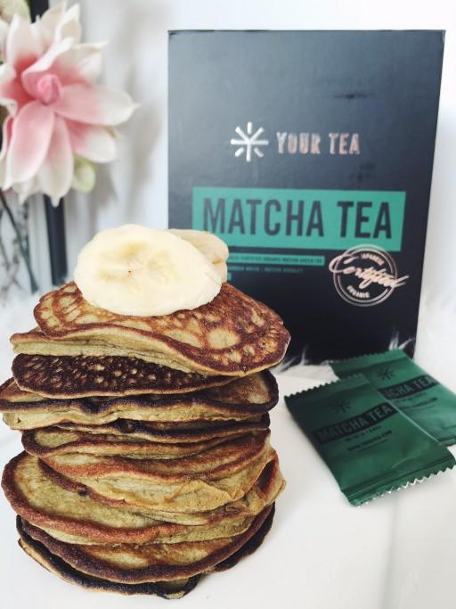 Recept: Banaan matcha pancakes