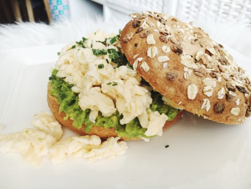 Recept: Avocado-Ei Bagel
