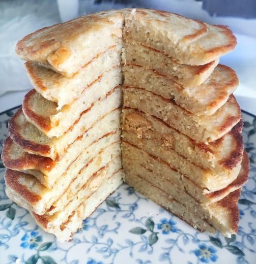 Recept: Peanut Butter Pancakes