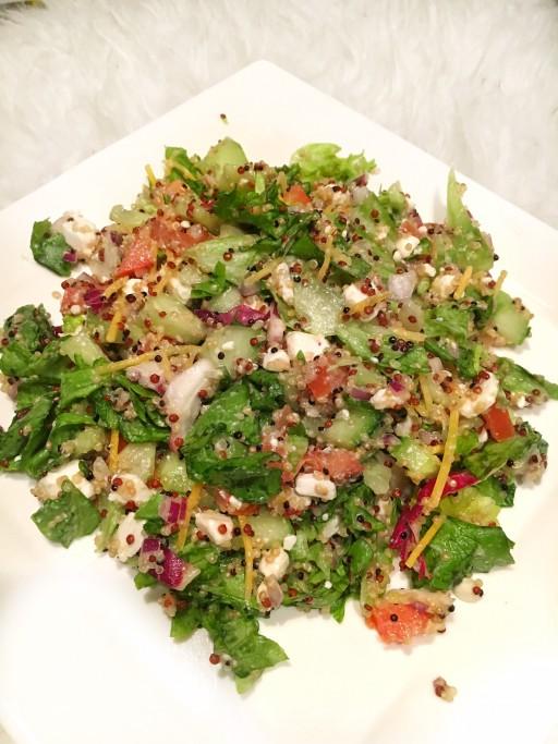 Recept: 3 kleuren Quinoa salade