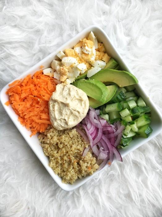 Recept: Quinoa Bowl