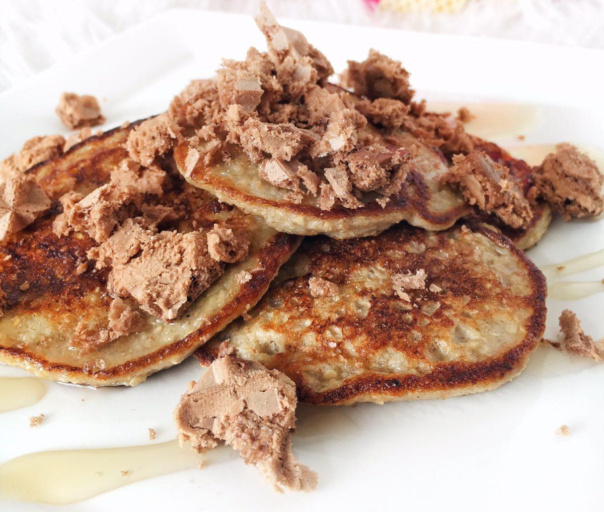 Recept: Crunchy healthy pancakes