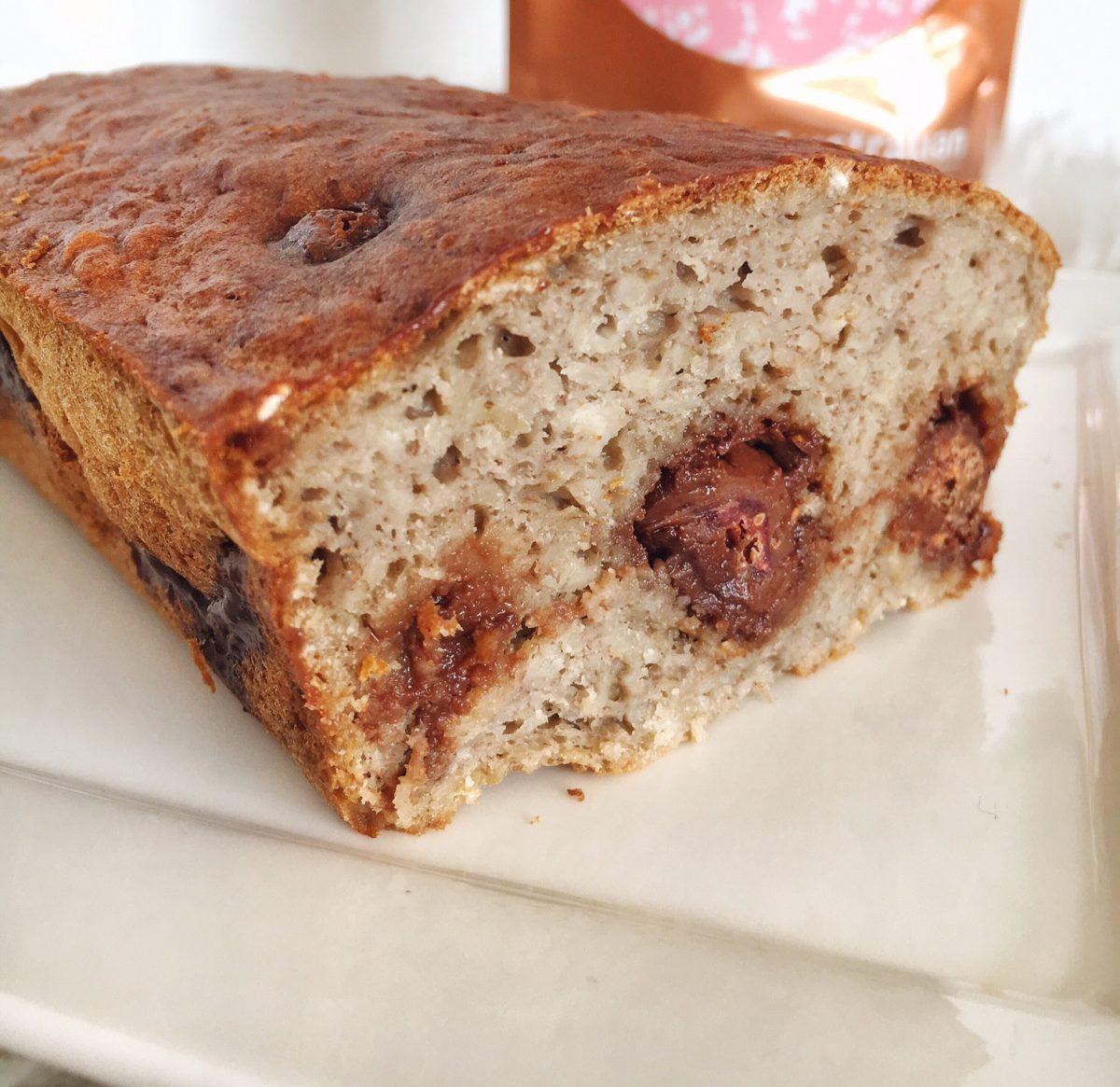 Recept: 5 ingrediënten bananenbrood – choco framboos